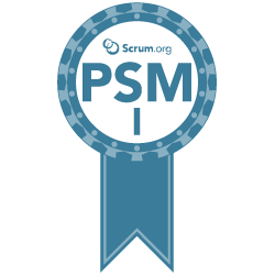 SCRUM Master Badge